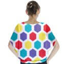 Hexagon Pattern  Blouse View2