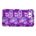 Cute Violet Elephants Pattern HTC Vivid / Raider 4G Hardshell Case  View1