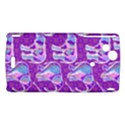 Cute Violet Elephants Pattern Sony Xperia Arc View1