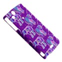 Cute Violet Elephants Pattern Sony Xperia Arc View5