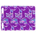 Cute Violet Elephants Pattern Kindle Touch 3G View1