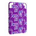 Cute Violet Elephants Pattern Kindle 3 Keyboard 3G View2
