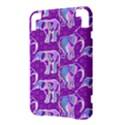Cute Violet Elephants Pattern Kindle 3 Keyboard 3G View3