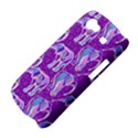 Cute Violet Elephants Pattern Samsung Galaxy Nexus S i9020 Hardshell Case View4