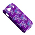 Cute Violet Elephants Pattern Samsung Galaxy Nexus S i9020 Hardshell Case View5