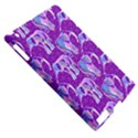 Cute Violet Elephants Pattern Apple iPad 2 Hardshell Case (Compatible with Smart Cover) View5