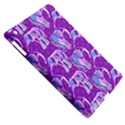 Cute Violet Elephants Pattern Apple iPad 3/4 Hardshell Case (Compatible with Smart Cover) View5