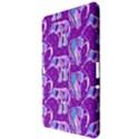 Cute Violet Elephants Pattern Samsung Galaxy Tab 10.1  P7500 Hardshell Case  View3