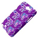 Cute Violet Elephants Pattern Samsung Galaxy Note 2 Hardshell Case View4