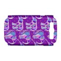 Cute Violet Elephants Pattern Samsung Galaxy S III Hardshell Case (PC+Silicone) View1