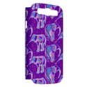 Cute Violet Elephants Pattern Samsung Galaxy S III Hardshell Case (PC+Silicone) View2