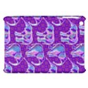 Cute Violet Elephants Pattern Apple iPad Mini Hardshell Case View1