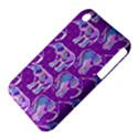 Cute Violet Elephants Pattern Apple iPhone 3G/3GS Hardshell Case (PC+Silicone) View4