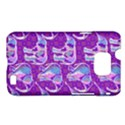 Cute Violet Elephants Pattern Samsung Galaxy S II i9100 Hardshell Case (PC+Silicone) View1