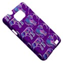 Cute Violet Elephants Pattern Samsung Galaxy S II i9100 Hardshell Case (PC+Silicone) View5