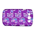 Cute Violet Elephants Pattern Samsung Galaxy S III Classic Hardshell Case (PC+Silicone) View1