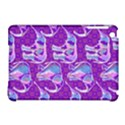 Cute Violet Elephants Pattern Apple iPad Mini Hardshell Case (Compatible with Smart Cover) View1