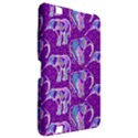 Cute Violet Elephants Pattern Kindle Fire HD 8.9  View2