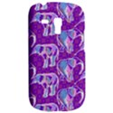 Cute Violet Elephants Pattern Samsung Galaxy S3 MINI I8190 Hardshell Case View2