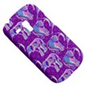 Cute Violet Elephants Pattern Samsung Galaxy S3 MINI I8190 Hardshell Case View5