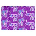 Cute Violet Elephants Pattern Samsung Galaxy Tab 10.1  P7500 Flip Case View1
