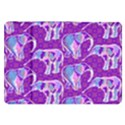 Cute Violet Elephants Pattern Samsung Galaxy Tab 8.9  P7300 Flip Case View1