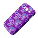 Cute Violet Elephants Pattern Samsung Galaxy Grand DUOS I9082 Hardshell Case View4
