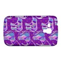 Cute Violet Elephants Pattern Samsung Galaxy Duos I8262 Hardshell Case  View1
