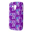 Cute Violet Elephants Pattern Samsung Galaxy Duos I8262 Hardshell Case  View3