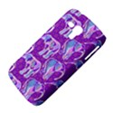 Cute Violet Elephants Pattern Samsung Galaxy Duos I8262 Hardshell Case  View4