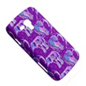 Cute Violet Elephants Pattern Samsung Galaxy Duos I8262 Hardshell Case  View5
