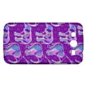 Cute Violet Elephants Pattern Samsung Galaxy Mega 5.8 I9152 Hardshell Case  View1