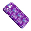 Cute Violet Elephants Pattern Samsung Galaxy Mega 5.8 I9152 Hardshell Case  View5