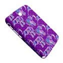 Cute Violet Elephants Pattern Samsung Galaxy Note 8.0 N5100 Hardshell Case  View5