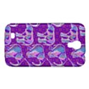 Cute Violet Elephants Pattern Samsung Galaxy Mega 6.3  I9200 Hardshell Case View1