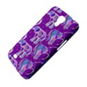 Cute Violet Elephants Pattern Samsung Galaxy Mega 6.3  I9200 Hardshell Case View4