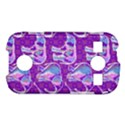 Cute Violet Elephants Pattern Samsung Galaxy S7710 Xcover 2 Hardshell Case View1