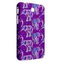 Cute Violet Elephants Pattern Samsung Galaxy Tab 3 (7 ) P3200 Hardshell Case  View2