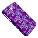 Cute Violet Elephants Pattern Samsung Galaxy Tab 3 (7 ) P3200 Hardshell Case  View5