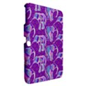 Cute Violet Elephants Pattern Samsung Galaxy Tab 3 (10.1 ) P5200 Hardshell Case  View2