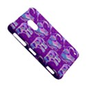 Cute Violet Elephants Pattern Nokia Lumia 620 View5