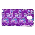 Cute Violet Elephants Pattern Samsung Galaxy Note 3 N9005 Hardshell Case View1