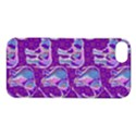 Cute Violet Elephants Pattern Apple iPhone 5S/ SE Hardshell Case View1