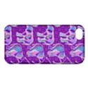 Cute Violet Elephants Pattern Apple iPhone 5C Hardshell Case View1
