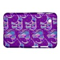 Cute Violet Elephants Pattern Samsung Galaxy Tab 2 (7 ) P3100 Hardshell Case  View1