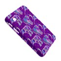 Cute Violet Elephants Pattern Samsung Galaxy Tab 2 (7 ) P3100 Hardshell Case  View5
