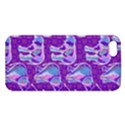 Cute Violet Elephants Pattern iPhone 5S/ SE Premium Hardshell Case View1