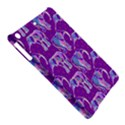Cute Violet Elephants Pattern iPad Air Hardshell Cases View5