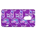 Cute Violet Elephants Pattern HTC One Max (T6) Hardshell Case View1