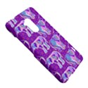 Cute Violet Elephants Pattern HTC One Max (T6) Hardshell Case View5